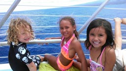Keiki activities at Pacific Whale Foundation